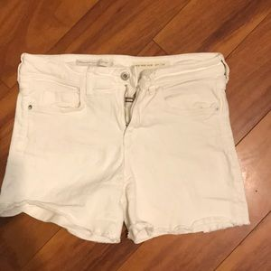 Anthropologie white shorts